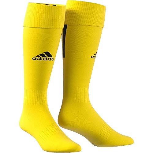 adidas Erwachsene Santos 18 Socken, Yellow/Black, M (Manufacturer size:EU 37-39)