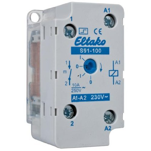 mechanischer UP-Stromstoßschalter, S91-100-230V, ELTAKO
