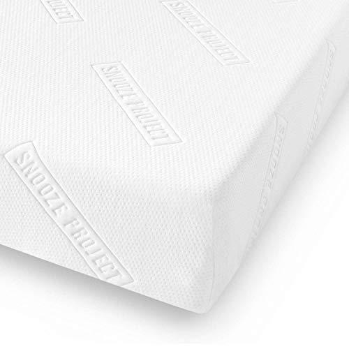Snooze Project Essential Matratze 200 x 210 cm - Härtegrad H2 H3 Mittel-Hart -...
