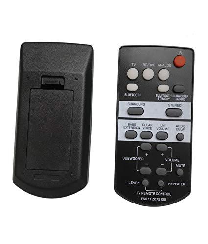 Replacement Remote Control for Yamaha YAS-203 YAS-108 ATS-1080 ATS-1030 YAS-105 YAS-106 YAS-207 Sound Bar