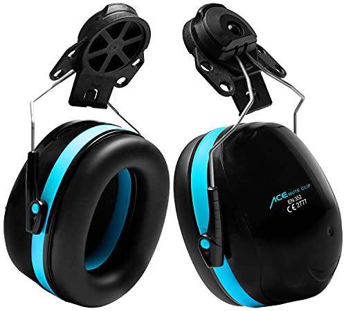 ACE Mute – Protector auditivo con SNR 30 dB – EN 352-3 – Protectores auditivos pasivos de cápsula para cascos de protección