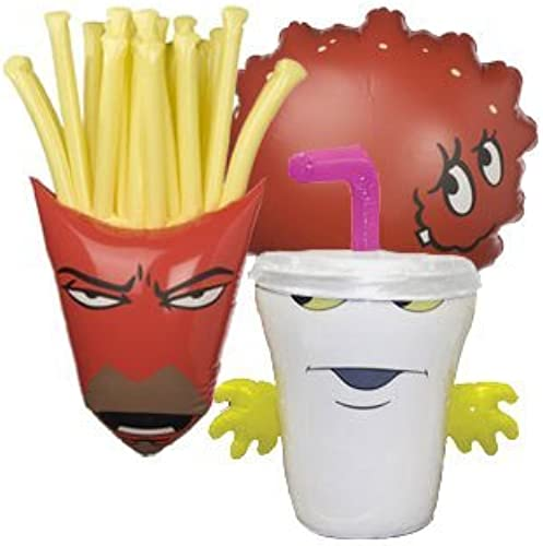 Aqua Teen Hunger Force Inflatable Figures by Giftapolis