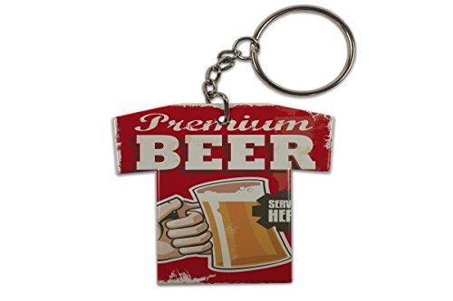 LEotiE SINCE 2004 Schlüsselanhänger Bier Bar Kneipe Premium Bier Trikot bedruckt