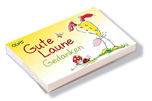 Oups Kärtchenbox: Gute Laune Gedanken