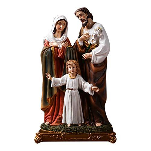 Nativity Set, Natividad Figuras Navidad - Belén De Navidad | Figuras Para Belenes De Resina De Navidad, Figuras Para Belenes Navideños Decoracion(31cm)