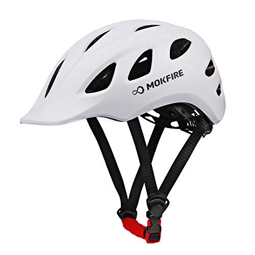 MOKFIRE Adult Bike Helmet Adjustable Lightweight Urban Casual Commuter...