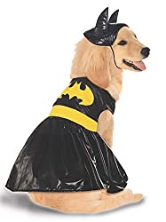 Batgirl supehero costume for dogs
