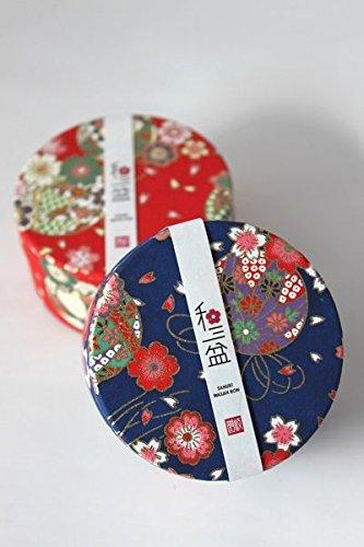 和三盆缶入り 干菓子 (缶の色(赤))
