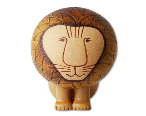 リサポストカード(ライオン)