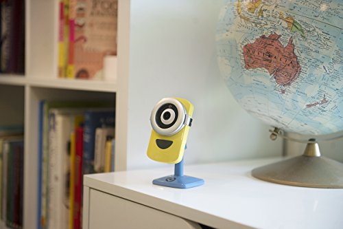 Despicable Me 3 – Minion Cam Hd Wi-Fi Camera Minion Translator Surveillance Camera, Yellow/Blue (MinionCam)