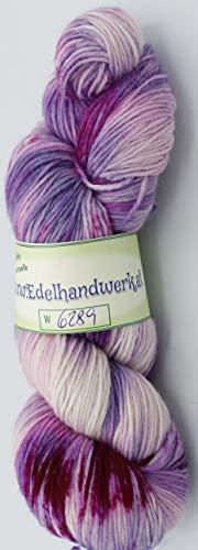 Handgefärbte Sockenwolle 6-fach