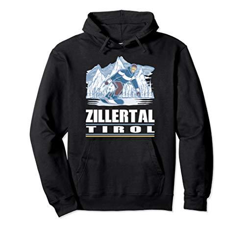Zillertal Tirol - Apres Ski Snowboarden Snowboard Pullover Hoodie