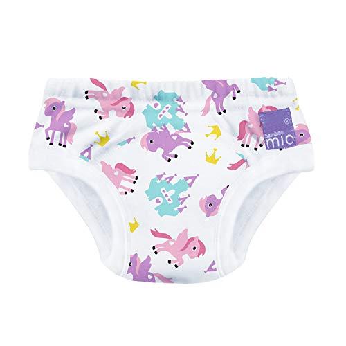 Morbuy Mutandine Allenatrici per Bambini Mutande di Cotone Pantaloni da Allenamento Lavabili e Riutilizzabili Confezione da 4 Mutandine di Apprendimento Bambino