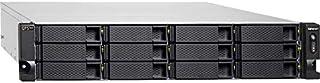QNAP TS-h1277XU-RP-3700X-32G 12-Bay QTS Hero AMD Ryzen 5 8C 3.4GHz 32GB RAM 2x1GbE 4x10Gb 2x500W