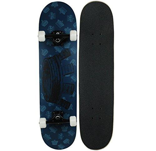 KPC Pro Skateboard Complete, KPC-306, Blau (Shadow Blue), 38,5
