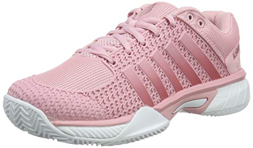 K-Swiss Performance Damen Express Light HB Tennisschuhe, Pink (Coral Blush/White 653M), 41 EU