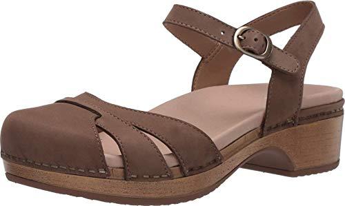 Dansko Women's Betsey Taupe Sandals 8.5-9 M US