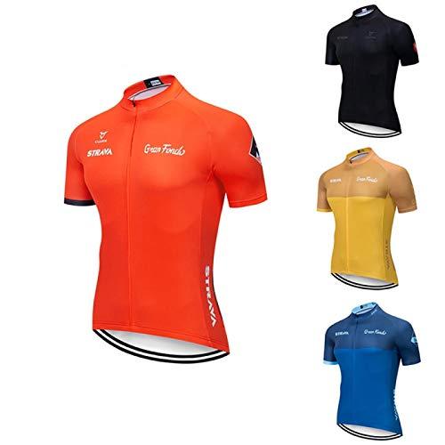 Maillot de ciclismo para hombre, manga corta, manga corta, camiseta, para bicicleta...