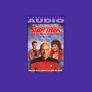 Star Trek, The Next Generation: Q-in-Law (Adapted)                   De :                                                                                                                                 Peter David                               Lu par :                                                                                                                                 Majel Barrett,                                                                                        John de Lancie                      Durée : 1 h et 28 min     Pas de notations     Global 0,0