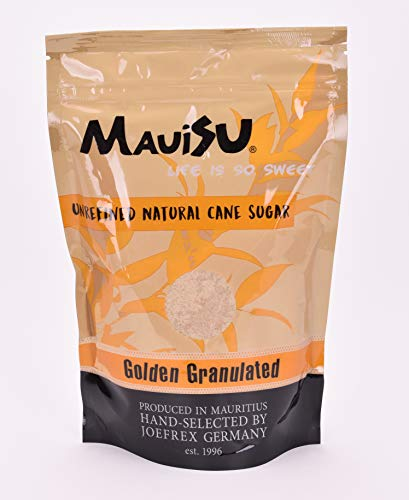 MauiSu - Golden Granulated Rohrzucker - 500g