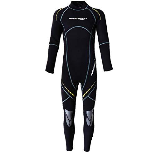Männer Voll Wetsuit Male 3mm Neopren-Tauchsportanzüge für Erwachsene Unterwasser-Sport L