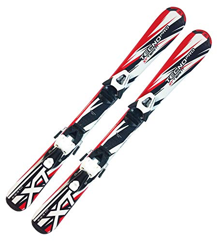 Tecno Pro Ski Kinderski XT-Team JR-Series 100cm + Bindung TC45 Kinder Alpinski