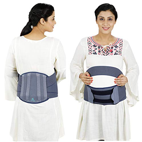 Lifeshield Women'S Pregnancy/Maternity Back Support Belt (Large)
