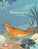 Carnet de croquis Dinosaures Oviraptor: Cahier de Dessin pour Enfant, Grand Format,120 Grandes pages blanches   20,32 cm x 27,94 cm, croquis esquisses Schémas. (French Edition)