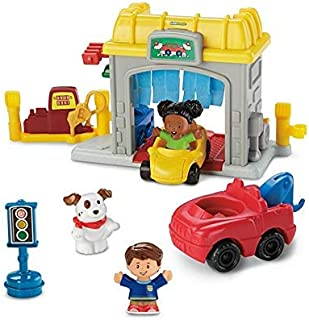 Fisher-Price Little People Road Trip Ready Garage