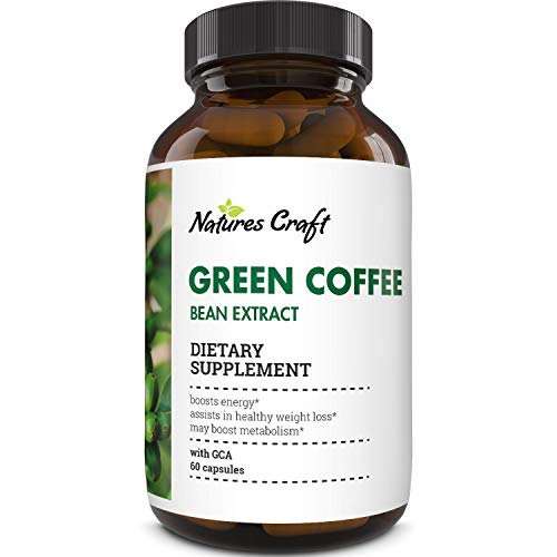 Natural Raw Green Coffee Bean Extract - Extra Strength Pure Premium Antioxidant Beans - 800 mg Max Fat Burner Supplement Super Cleanse Pills for Weight Loss Benefits Reviews 4