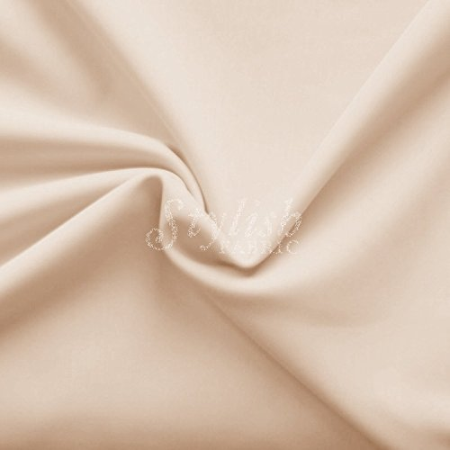 Nude Matte Performance Tricot Knit Fabric for Swimwear Activewear Sportswear -10 Yards