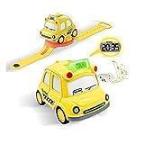 Kinderuhren für Jungen, Autos Spielzeug mit Sound & Licht| Kleinkind Spielzeug für 3 Jahre alt,...