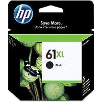 HP #61XL DeskJet 3050 / 3000 / 2050 / 2000 / 1050 / 1000 ブラックインクジェットカートリッジ、部品番号CH563WN
