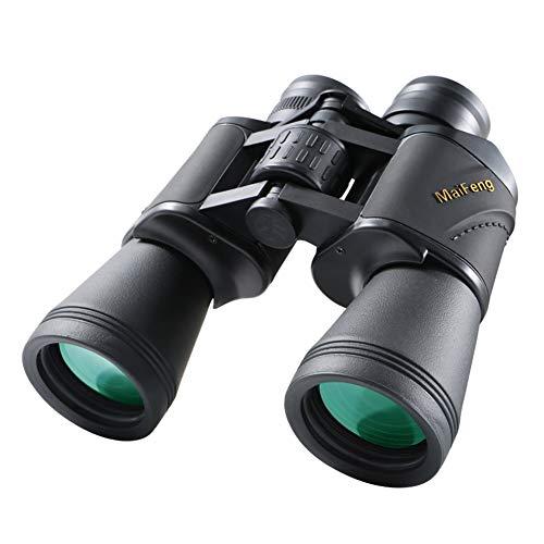 20x50 Prismáticos de Gran Aumento Binoculares Zoom HD 20x Lente Antiniebla para Observación de Aves Caza Viaje Excursionismo