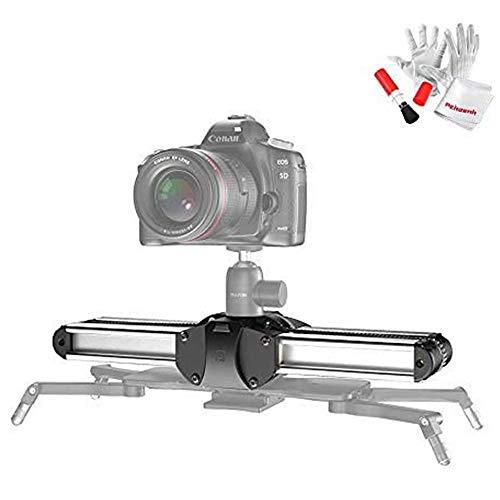 Zeapon Micro 2 - Deslizador de riel para cámara (Distancia de Viaje de 54 cm) Payload - Rascador automático de Polvo (8 kg, Velocidad de consistencia y autobloqueo, Incluye Bolsa de Transporte)