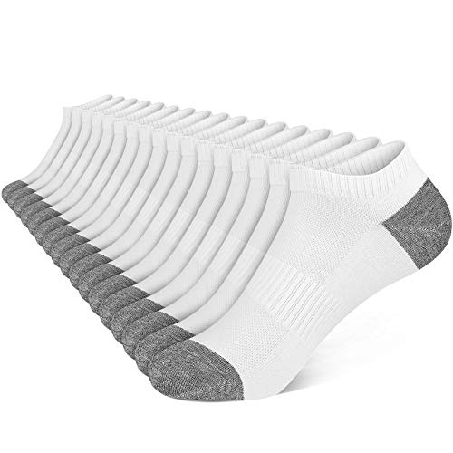 WERNIES Low Cut Socks Comfort Performance No Show Ankle Socks for Women and Men 8 Pairs