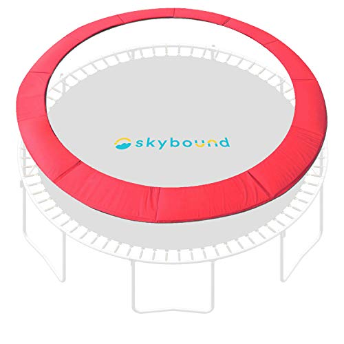 SkyBound 14 Foot Red Trampoline Pad (fits up to 7 Inch Springs) - Standard
