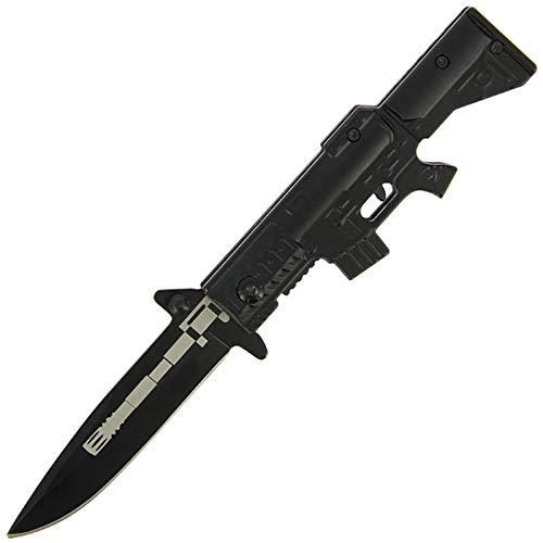g8ds Einhandmesser Aluminium schwarz M16