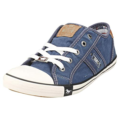 MUSTANG Damen 1099-302-841 Sneaker, Blau...