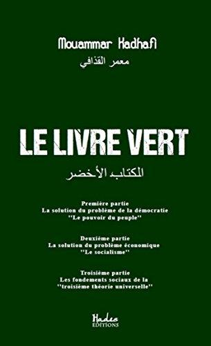 Le livre vert (HAD.SC.POLITIQU)