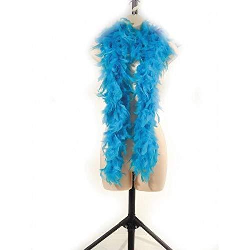 Party Pro 852500115 Boa 1.80 m Turquoise 45 gr, Mulit Couleur, 1.80 m