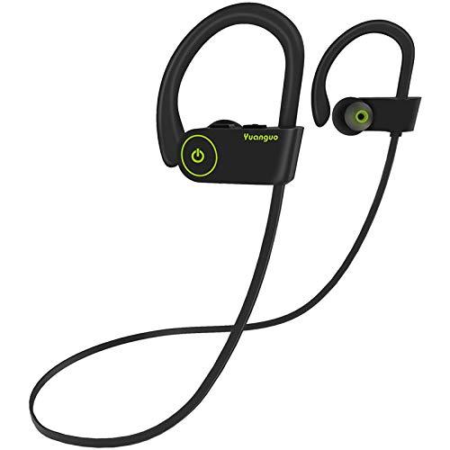 Arbily Bluetooth Kopfhörer, Kabellose Kopfhörer In Ear mit Premium Klangprofil mit intensivem Bass, Wireless Kopfhoerer für Sport (Schwarz)