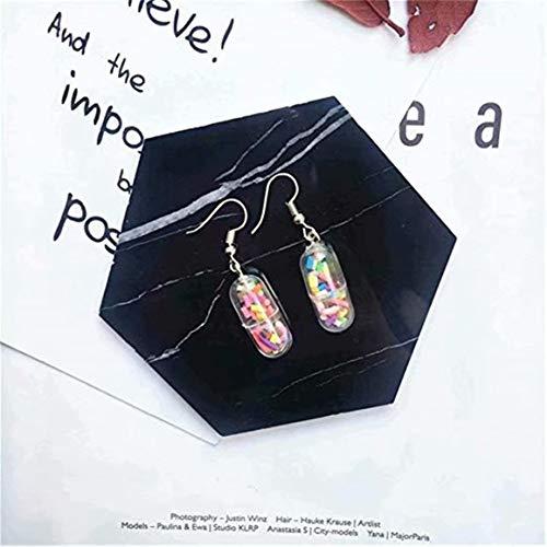 SUNMUCH Orecchini a capsula divertenti e simpatici orecchini a forma di pillola, idea regalo per infermieri