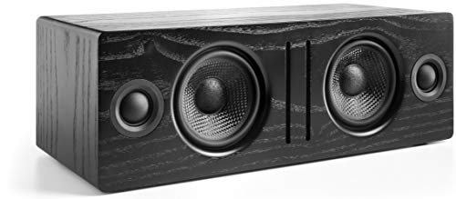 Audioengine B2 Wireless Bluetooth Speaker | Home Music System Desktop Speaker with aptX Bluetooth, 60W Powered Wireless Tabletop Speaker | AUX Audio Input for Phone, Tablet, Computer (Black)
