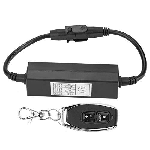 Control Remoto inalámbrico 12V DC Motor actuador Lineal DPDT Interruptor hacia adelante Rendimiento confiable Rendimiento