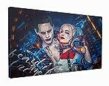 M2M Prints Leinwanddruck Harley Quinn und der Joker (76,2 x