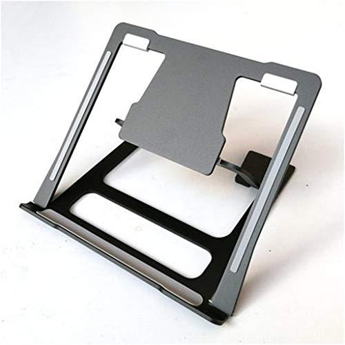Tragbarer Laptop Ständer, 6 Gänge Einstellbare Ventilated Riser Stehen For Bett Schreibtisch Und Sofa, Aluminiumhalter Ergonomische Kompatibel Mit Mac Pro / Air / ASUS Alle Notebook 10-17 Zoll