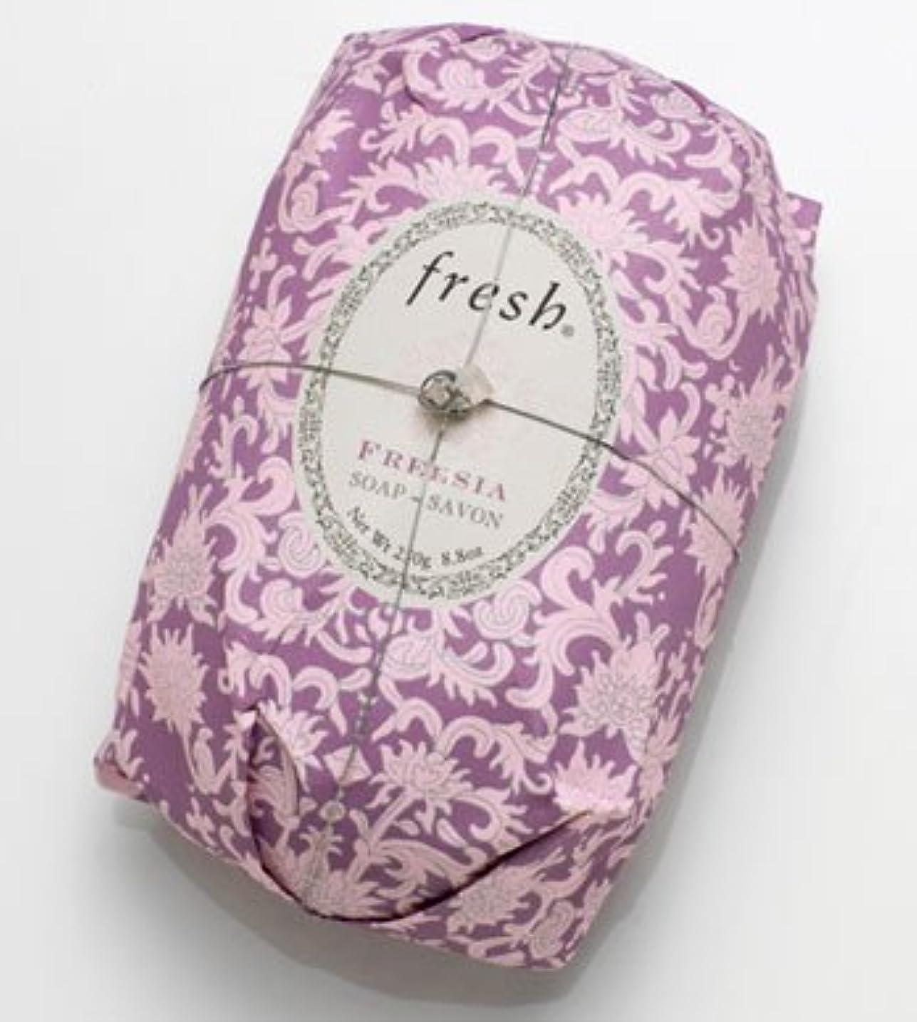 エコー直立講堂Fresh FREESIA  SOAP (フレッシュ フリージア ソープ) 8.8 oz (250g) Soap (石鹸) by Fresh