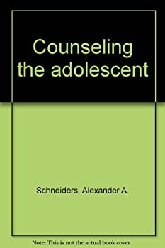 Hardcover Counseling the adolescent Book