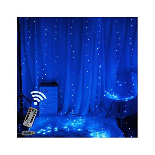 USB aangedreven 3×1M/3×2M/3×3M Led koper draad draad draad venster gordijn lichten waterdicht buiten kerstfeest bruiloft slinger licht